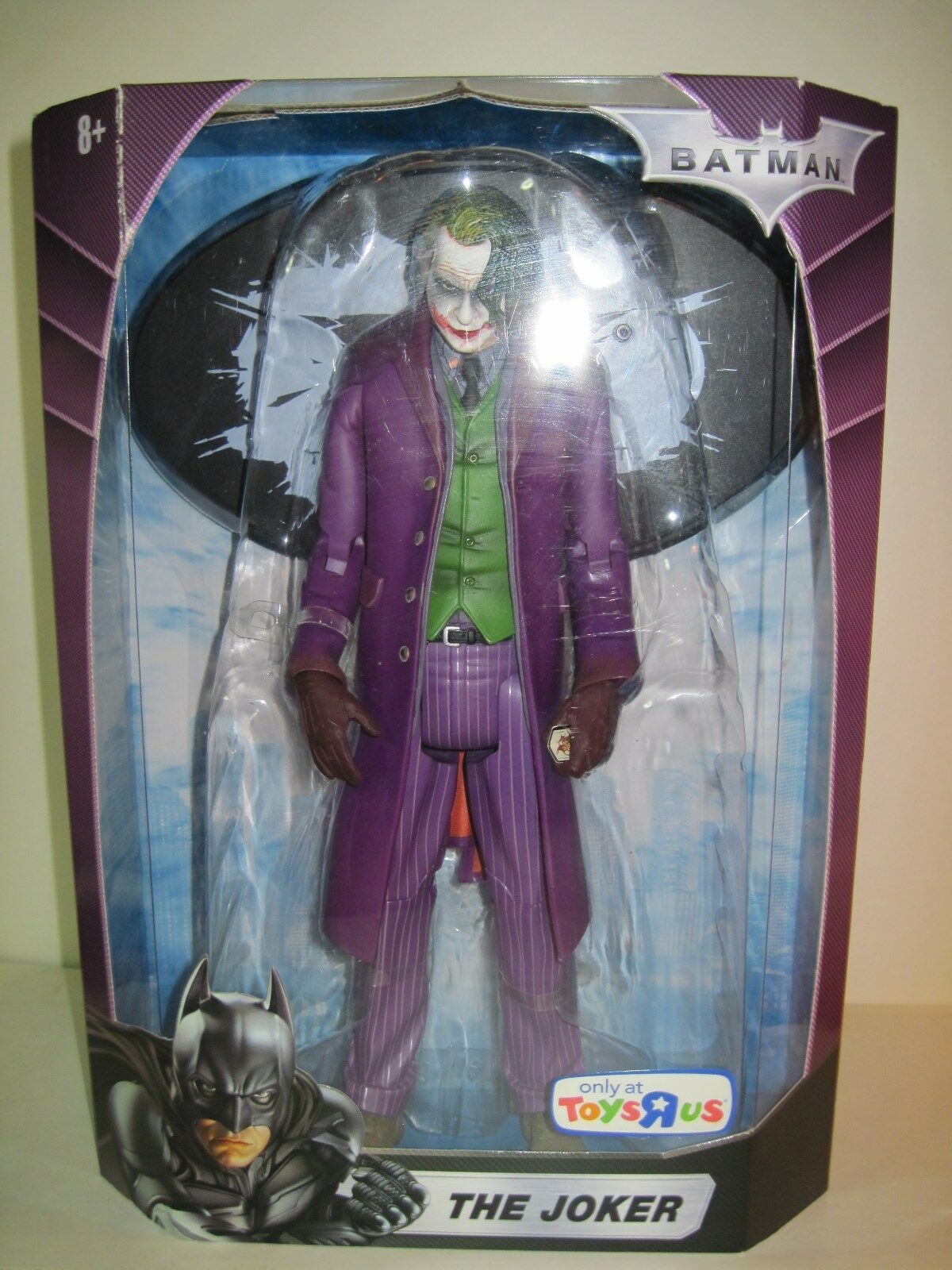 BATMAN 12'' THE JOKER 2008 MATTEL