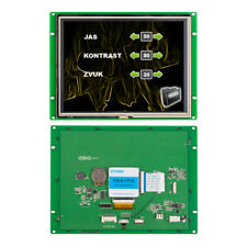 8 Hmi Touch Screen Keypad Module Stone Tft Lcd Touch Display