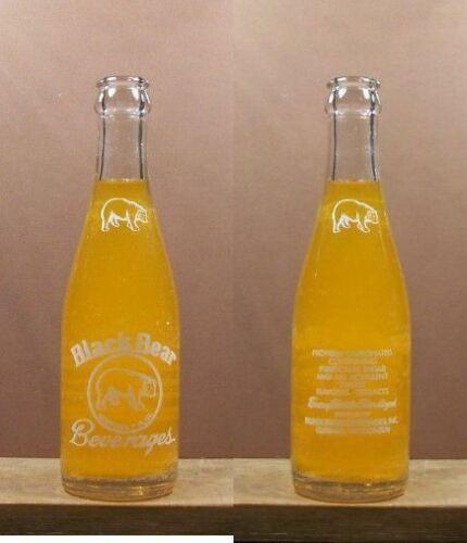 Black Bear 1965  ACL 7 oz Soda Pop Bottle St Francis Wisconsin 247 Varation 2