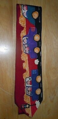 Are We There Yet 100% Silk Necktie Save The Children no tag NEW