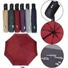 Strong Automatic Open&Close Folding Compact Windproof Anti-UV Rain Sun Umbrella