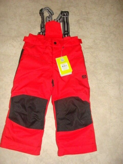 BOYS YOUTH KIDS JUPA BORIS SKI SNOW PANTS   BIB SIZE 3 NWT