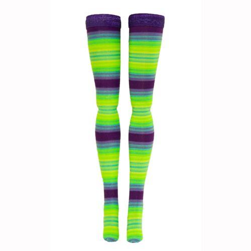 Minifee Ipplehouse Luts Multi Stripe Doll Stockings for 1//4 Scale BJD