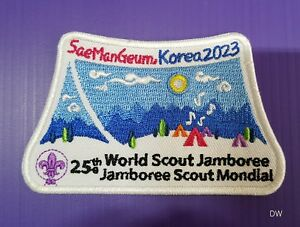 Details about 2023 World scout Jamboree Korea patch #2 // world scout  jamboree 2019