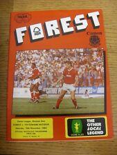 10/11/1984 Nottingham Forest v Tottenham Hotspur  (Light Crease). Unless previou