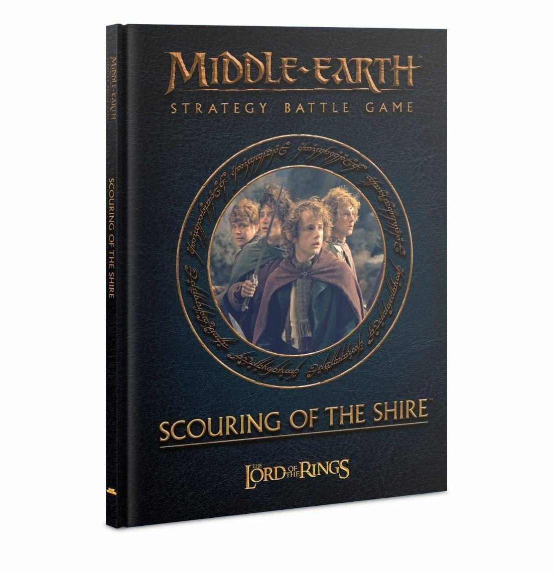 più economico Middle Earth Scouring Of The Shire (Inglese) GW Uomo Anelli Anelli Anelli Hobbit Sbg  risparmia fino al 50%