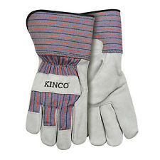 6 Pack Child Gry Suede Glove 1500 C