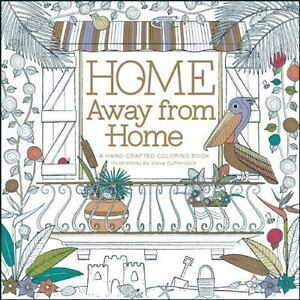 Home Away From A Handcrafted Coloring Book 2015 Paperback