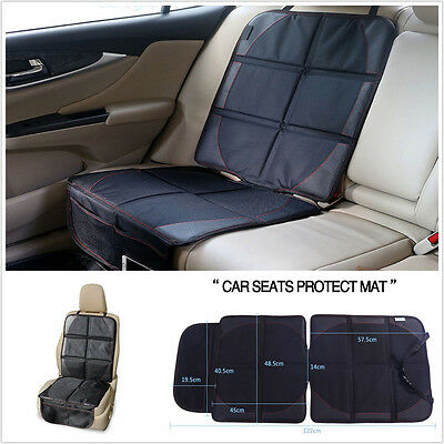 Baby Car Seat Protector Mat Covers Under Child Leather Saver Cover UK