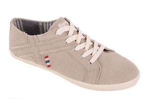 Napapijri-Damen-Schuhe-Sneaker-Schnuerschuhe-Sara-Beige-Gr-37