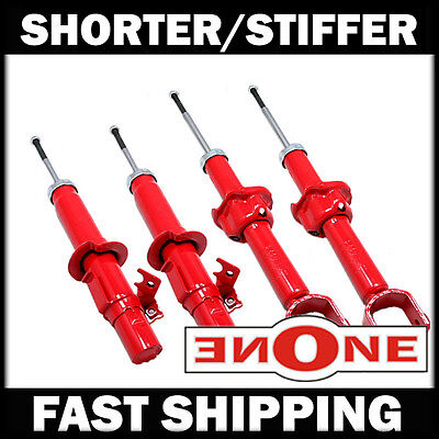 Mookeeh MK1 Performance Stiff Shorter Shocks Struts For Lowered Vehicles GS2122