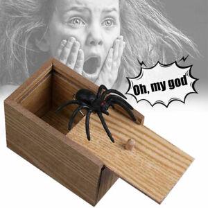 Surprise-Spider-in-Wooden-Box-Gag-Gift-Practical-Joke-Prank-Toy-Scare-Trick