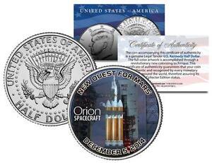 ORION-SPACECRAFT-Exploration-Flight-Test-2014-JFK-Half-Dollar-US-Coin-SPACE-NASA