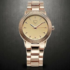 7b6387eb464f NEW Picard   Cie 9302 Women s Bellona All Rose Gold Dial Watch ...