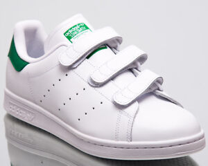 online retailer dda1c f6a69 Image is loading adidas-Originals-Stan-Smith-CF-Men-New-White-