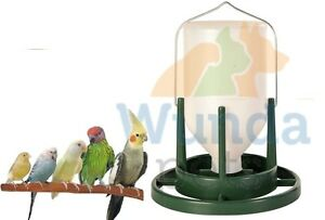 TRIXIE-PLASTIC-HANGING-BIRD-BUDGIE-AVIARY-1LTR-WATER-DRINKER-DISPENSER-5453