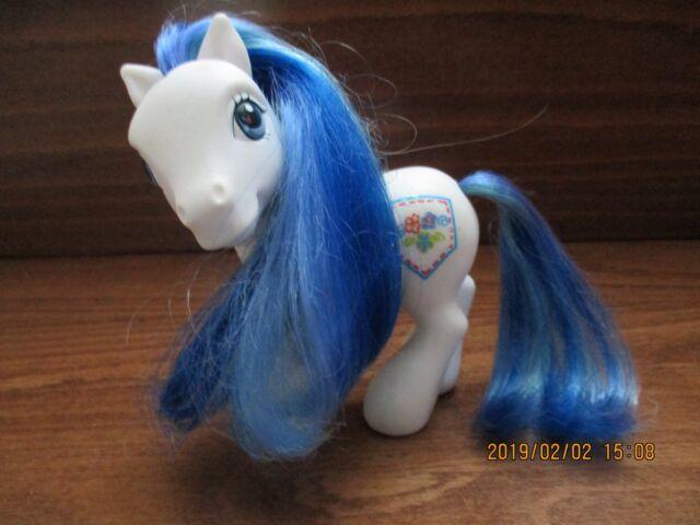 Hasbro - My Little Pony 2002 - White -Jean Pocket Figure
