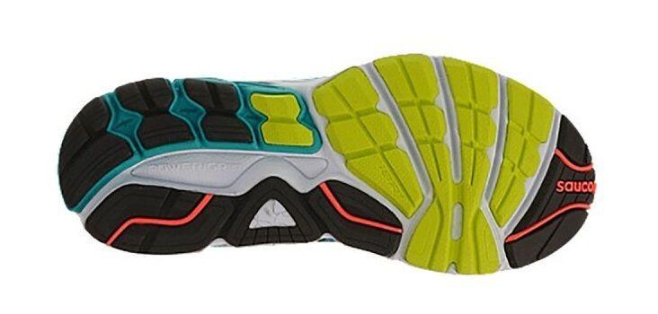 Saucony Omni 14 Support Frame 5 Blau Running Schuhes Damenschuhe 5 Frame Wide RARE eb7fc0