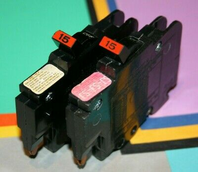 Details about  /4 FEDERAL PACIFIC SINGLE POLE 15 AMP 1-POLE THIN NC 120 VOLT BREAKERS SAVE $$$