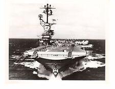 1969 USS Intrepid CV-11 Aircraft Carrier Navy Ship Official Photo 8x10