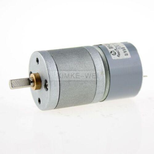 6V DC 300RPM High Torque Electric Gear Box Motor