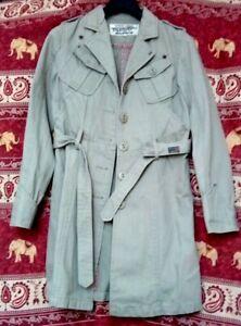 Glenoshe-Trench-Coats-Gabardine-Original-Jeans-pour-Femme-taille-36