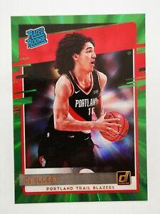 Panini Donruss 2020-21 N23 card NBA Green Rookie #223 CJ Elleby Trail Blazers
