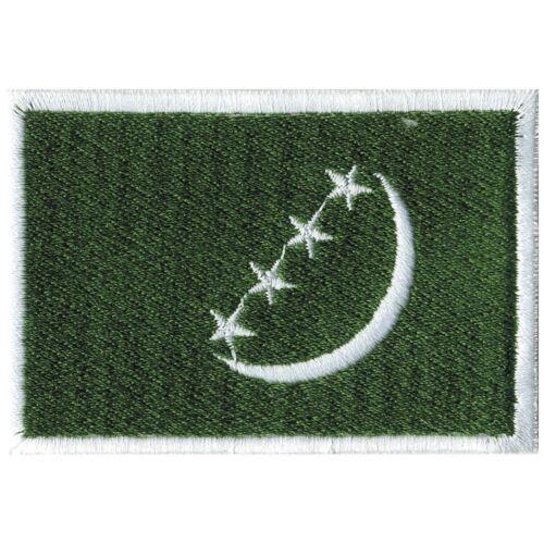 KANAREN ☆21438☆ Aufnäher Applikation nähen Stick-Emblem Flaggen der Welt