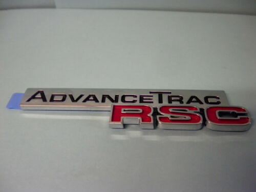 NEW OEM FORD ADVANCE TRAC RSC NAMEPLATE EMBLEM DECAL 5L2Z-7842528-AA