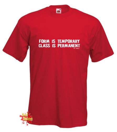 classe est permanent shankly liverpool t shirt toutes les tailles Formulaire est temporaire