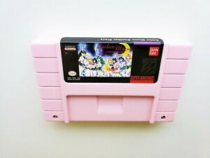 Sailor-Moon-Another-Story-Pink-Edition-Super-Nintendo-English-SNES-USA