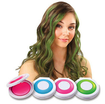 BUAU 4 Colors Temporary Hair Chalk DIY Hair Styling Easy Color Easy Wash