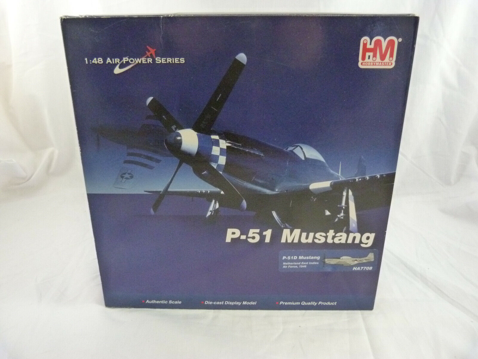 Hobby Master  HA7708 P51D Mustang Netherle East Indies Air Force 1946