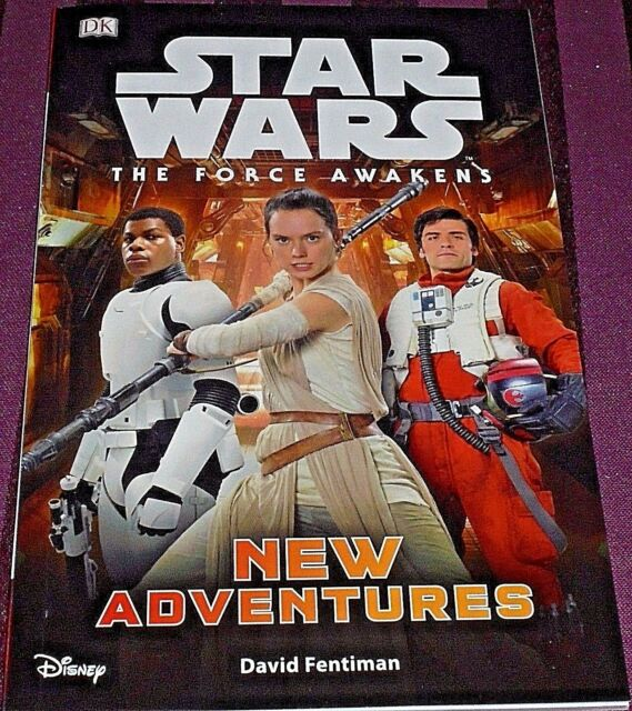 STAR WARS THE FORCE AWAKENS - NEW ADVENTURES -47 PAGE BOOK- (BRAND NEW)
