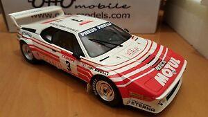 01h18 Otto Bmw M1 Groupe B # 3 - Tour de Corse 1983 Motul