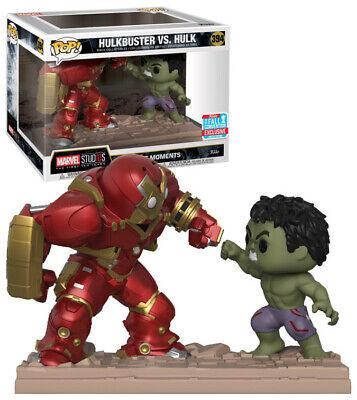 Funko Pop Avengers Hulk VS Hulkbuster Movie Moment Vinyl Action Figure Gift #394