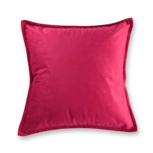 VELVET-Premium-Quality-Cushion-Cover-Square-45-x-45-cm-Red-Christmas