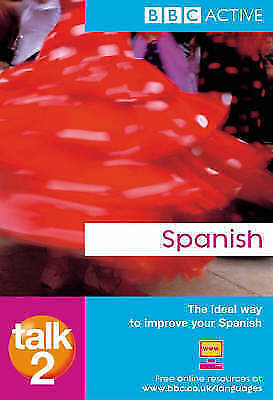 """AS NEW"" Mcleish, Inma, Talk Spanish 2 Book Book"