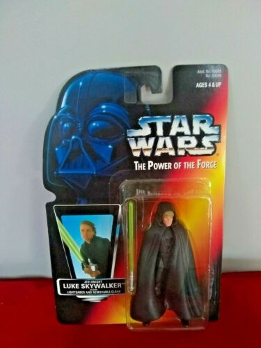 """1995 Star Wars Power of the Force Luke Skywalker /""""Jedi Knight/"""""""