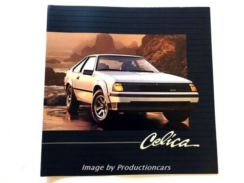GT GT-S ST 1984 Toyota Celica 16-page Original Car Sales Brochure Catalog