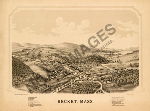 Becket Massachusetts c1879 24x18