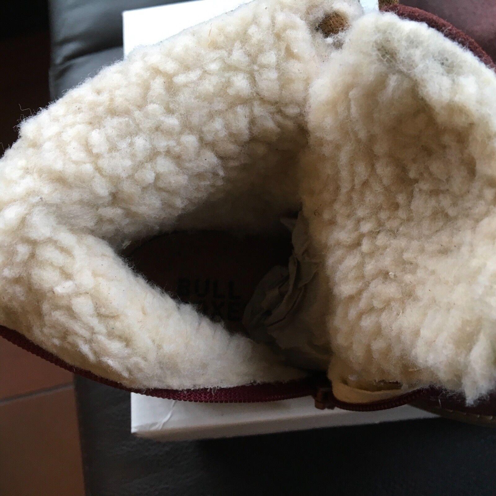 Bull Boxer Stiefel Gr.30, aus Leder Kinder, Bordeaux, Gr.30, Stiefel Neu mit Karton bbd731
