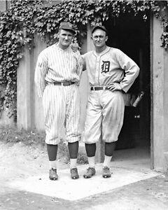 Ty-Cobb-amp-Walter-Johnson-1-Photo-8X10-1925-B-amp-W