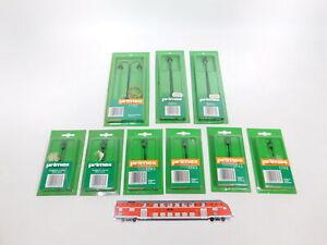 CT867-0,5# 9x Primex/Märklin H0 Laterne/Bogenlampe etc: 1743+1755+1720, NEUW+OVP