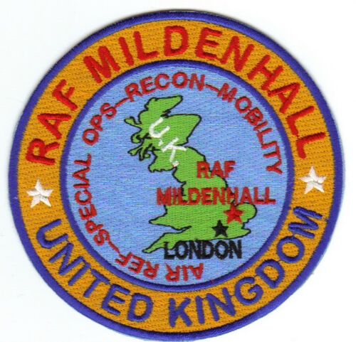 MOBILITY MILDENHALL RAF AIR REF,SPECIAL OPS UNITED KINGDOM RECON