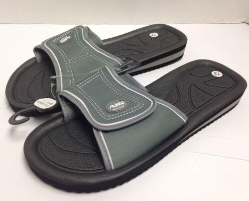 Black Grey 8-13 Navy Air Balance Men/'s Sandals Slide Slipper Shower Shoes