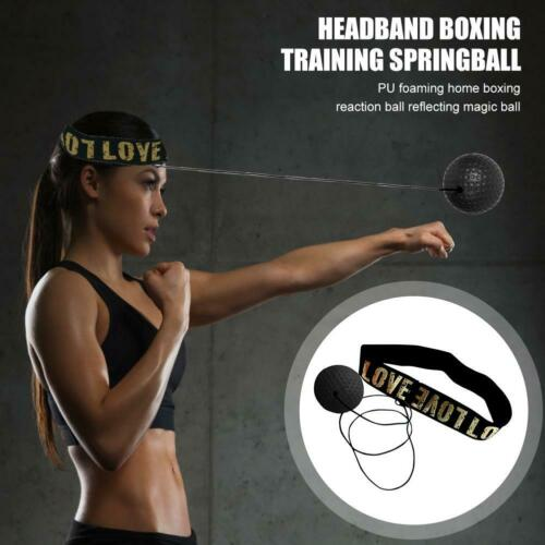 Details about  /Boxing Head Band Speedball Fight Ball Training Reflex Speed Punch Exercise New
