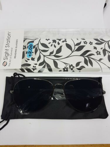 sight station by foster grant sunglasses readers mens all strenghts 1.50-+3.00