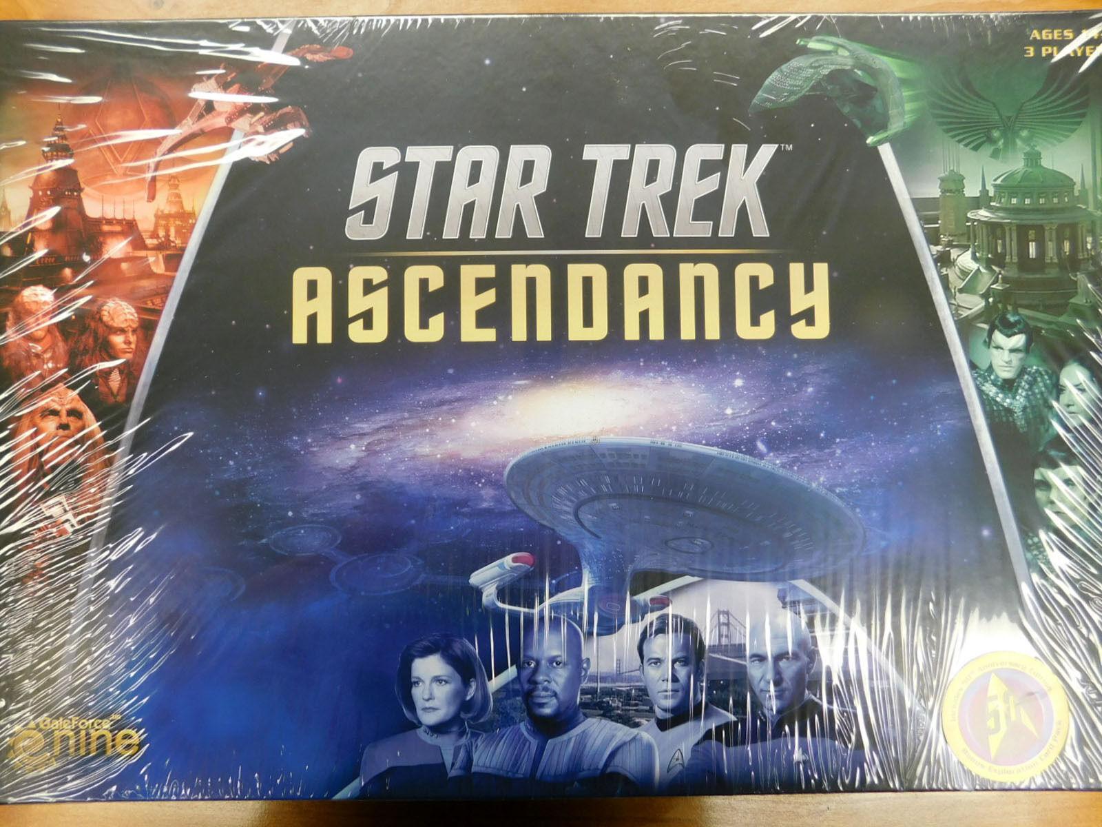 Gale Force 9 Star Trek  l'ascendant-Comme neuf in Shrink-wrap   livraison gratuite et rapide disponible