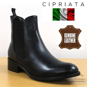 55ac48aa95d5fd Das Bild wird geladen Cipriata-034-Bianca-034-Damen-Twin-Zwickel-Chelsea-
